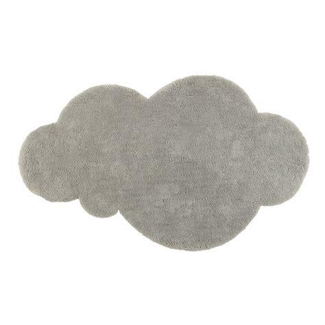 tapis nuage 224 poils courts gris 125 x 200 cm maisons du monde