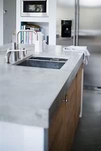 Küche Beton Holz : arbeitsplatte beton kueche ideen ~ Markanthonyermac.com Haus und Dekorationen