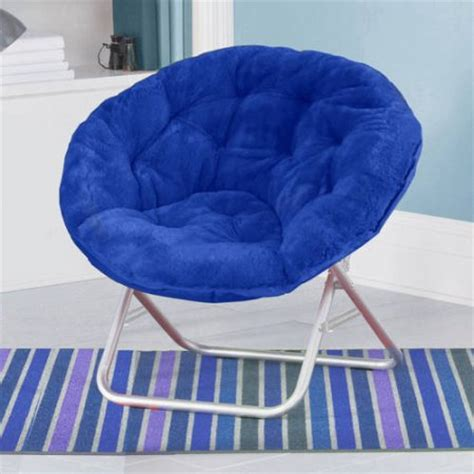 mainstays faux fur saucer chair colors walmart