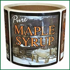 Horses Pure Maple Syrup Label – Roth Sugar Bush