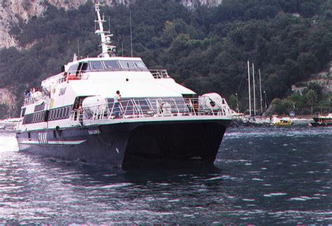 Hydrofoil Boat From Sorrento To Capri by Sorrento To Capri Ferry Capri Harbour Flickr Photo
