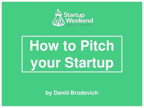 how to pitch your startup make the best investor pitch presentation
