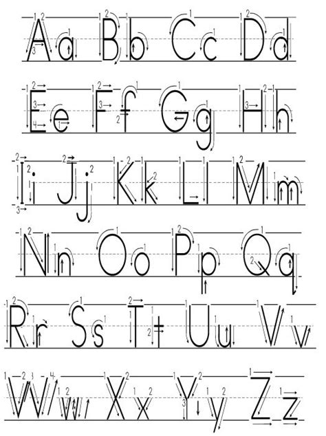 Learning To Write Alphabet Templates Free  Templates  Resume Examples #oja9nxnyrv