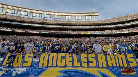Rams Relocation To Los Angeles Approved By Nfl Owners