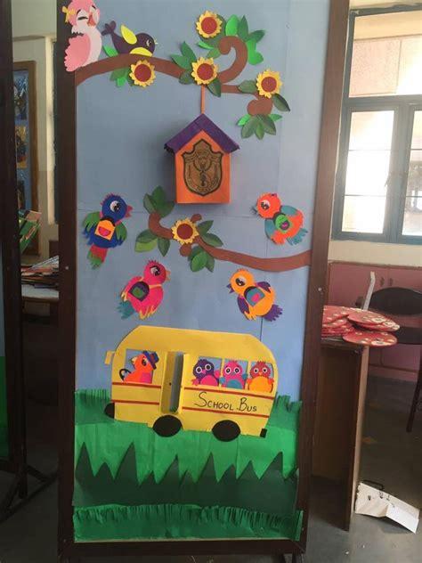 cool door decorations for preschoolers 5 171 funnycrafts