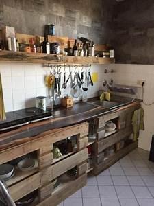 Küche Aus Paletten : paletten k chen charme flat pinterest palette europalette und k che diy ~ Markanthonyermac.com Haus und Dekorationen