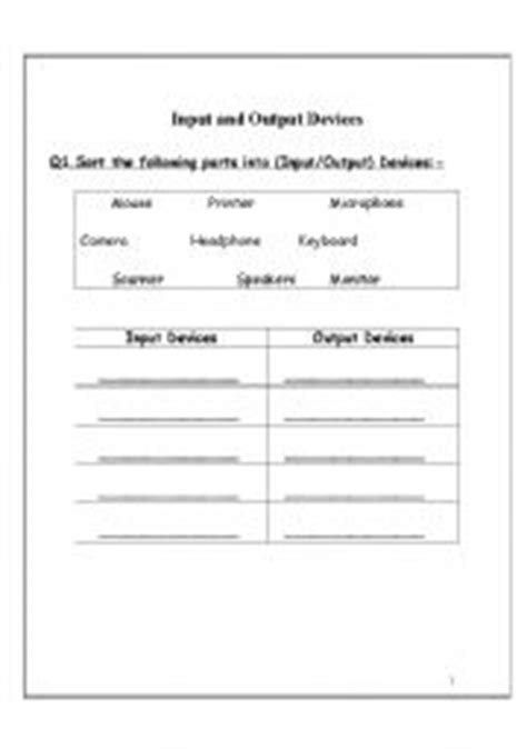 10 Best Images Of Computer Labeling Worksheets With Answers  Label Computer Parts Worksheet
