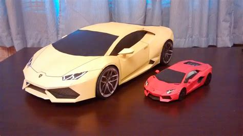 Lamborghini Huracan Papercraft