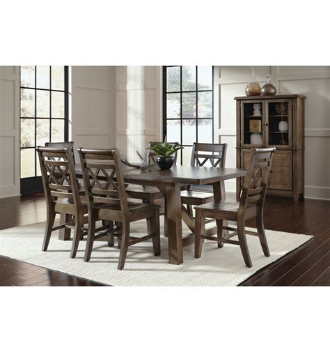 8 Pc Canyon Xx Dining Group  Wood You Furniture
