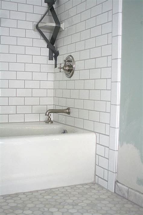 26 white bathroom tile with grey grout ideas and pictures