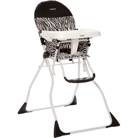 cosco flat fold high chair zahari walmart