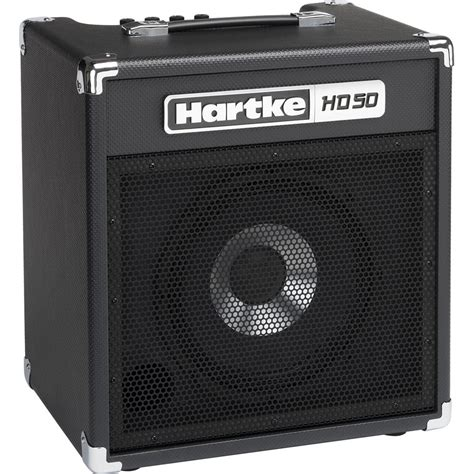 hartke hd50 50w 1x10 quot combo lifier for electric bass