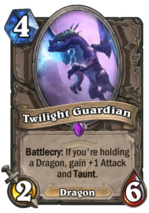 twilight guardian hearthstone card