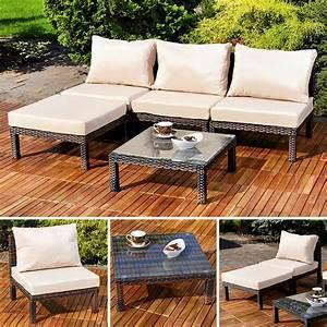 Rattan Sitzgruppe Garten : rattan sitzgruppe garten liege sessel stuhl garten real ~ Markanthonyermac.com Haus und Dekorationen