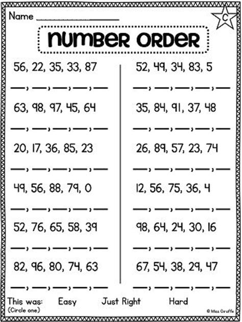 Best 25+ Ordering Numbers Ideas On Pinterest  Number 0, Math Games For Kindergarten And Number
