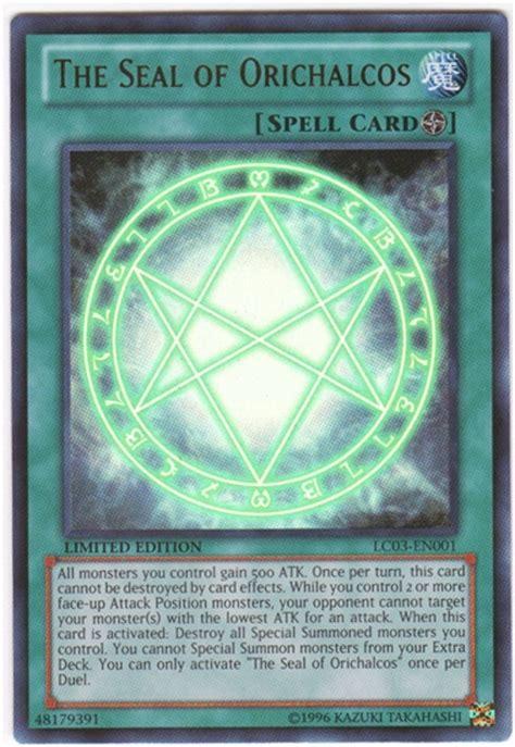 yu gi oh legendary collection 3 single the seal of orichalcos ultra da card world
