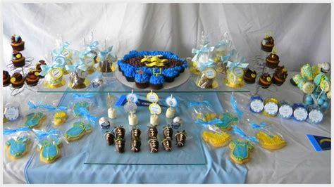 San Diego Chargers Baby Shower Party Ideas