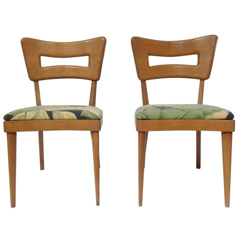 pair of mid century modern heywood wakefield quot biscuit