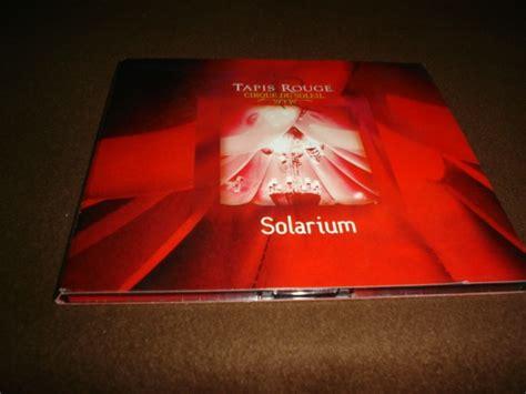 cirque du soleil cd album tapis solarium ddi 150 00 en mercado libre