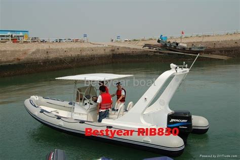 Large Inflatable Boat by Large Rigid Hull Inflatable Boat Rib830 Rib960