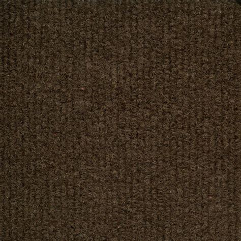 trafficmaster brown ribbed 18 inch x 18 inch carpet tiles 16 tiles 36 sq