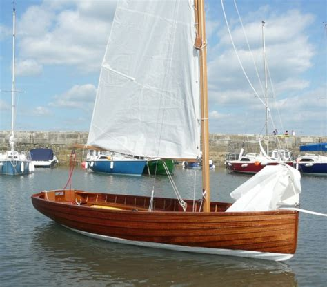 Small Boats For Sale Devon by Bantham C Class Wooden Sailing Dinghy For Sale