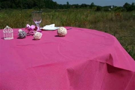 nappe ronde nappe mariage ronde fuchsia d 233 co table mariage 224 prix discount