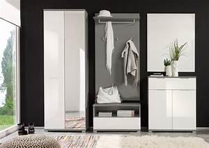 Garderoben Set Grau : roy von first look garderobe in wei grau garderoben sets online kaufen ~ Markanthonyermac.com Haus und Dekorationen