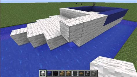 How To Make A Boat In Minecraft Ipad by How To Build A Motor Boat In Minecraft Pe Minecraft