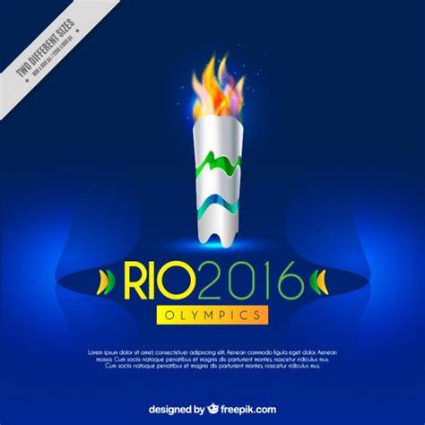 fond bleu avec la torche olympique t 233 l 233 charger des