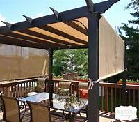 deck shade ideas To maximize shade, this couple got rid of their deck ...
