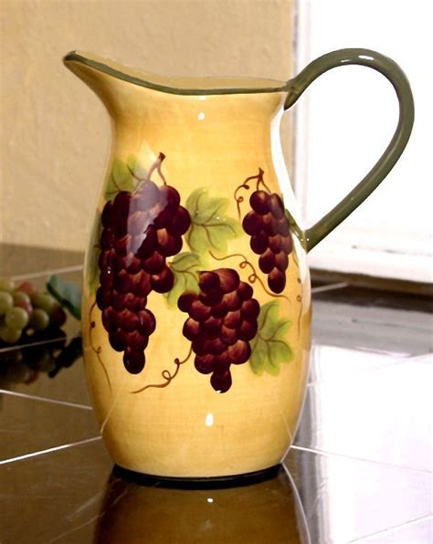 17 best images about kitchen grapes wine on