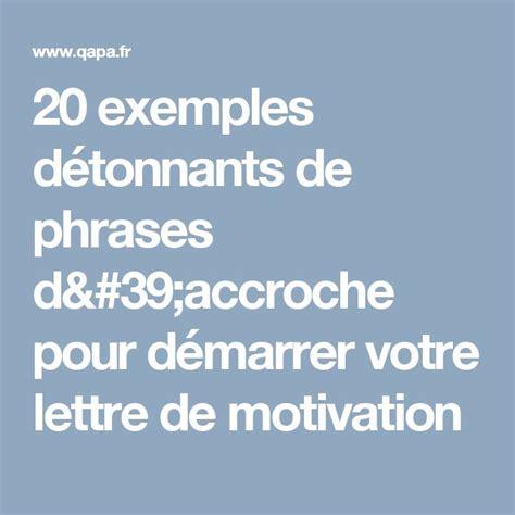 les 25 meilleures id 233 es de la cat 233 gorie lettre motivation sur lettre de motivation
