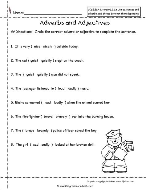 17 Best Images Of Adjective Worksheets Grade 8  Identifying Adjectives Worksheet 4th Grade, As