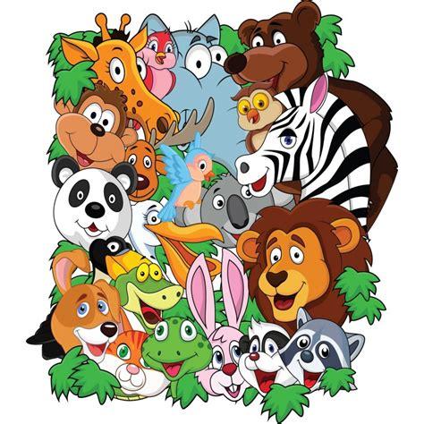 stickers enfant animaux de la jungle d 233 co stickers