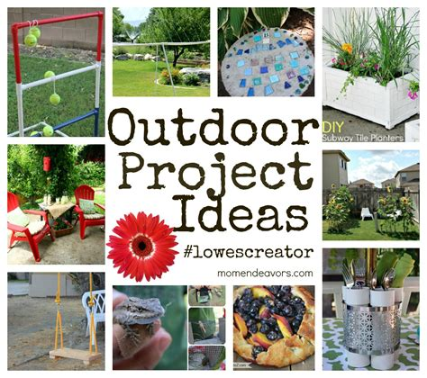 10 Great Outdoor #lowescreator Projects! {+ $100 Lowe's