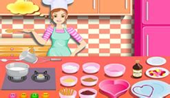 pin jeux cuisine cake on