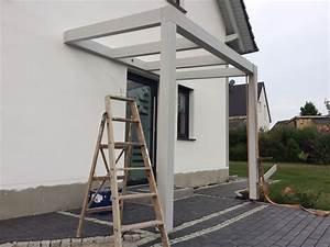 Haus Bauen Anleitung : vordach aus holz selber bauen ~ Markanthonyermac.com Haus und Dekorationen