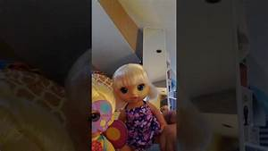Baby alive doll name reveal Brianna's Butterfly party ...