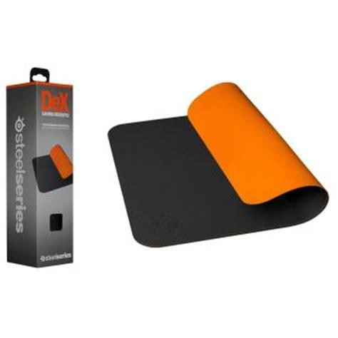 tapis de souris steelseries dex gaming noir et orange tapis de souris achat prix fnac
