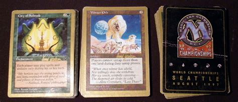 1997 magic the gathering world chionship deck