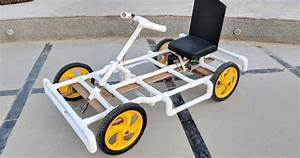 How to Make an Electric Go Kart/Car Using PVC Pipes At ...