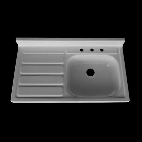 42 quot x 24 quot single bowl drainboard farmhouse sink