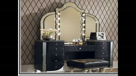 Home Mirror : Vanity Table With Lighted Mirror