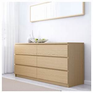 Ikea Wickelaufsatz Malm : malm chest of 6 drawers white stained oak veneer 160 x 78 cm ikea ~ Markanthonyermac.com Haus und Dekorationen