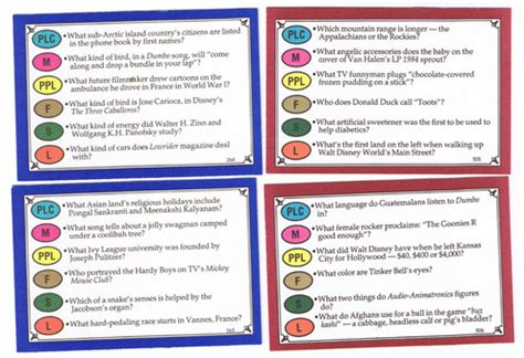 trivial pursuit walt disney family edition card set image boardgamegeek