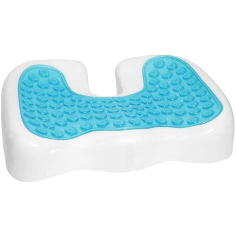coccyx orthopedic gel enhanced comfort foam seat cushion