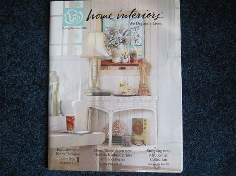 Home Interiors & Gifts Spring/summer 2006 Catalog Brochure
