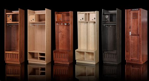 Wood Sports Lockers And Wood Club Lockers By All Wood Lockers