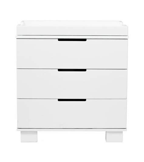 babyletto modo 3 drawer changer dresser kd w removable